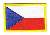 Fahnen Aufnäher Tschechische Republik