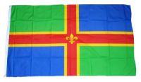 Fahne / Flagge England - Lincolnshire 90 x 150 cm