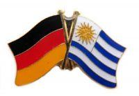 Fahnen Freundschaftspin Anstecker Uruguay