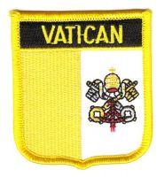 Wappen Aufnäher Fahne Vatikan
