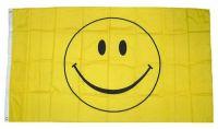 Fahne / Flagge Smile 150 x 250 cm