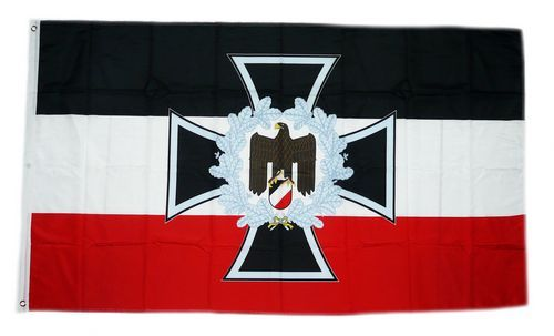 fahne flagge deutsches reich eisernes kreuz adler 90 x. Black Bedroom Furniture Sets. Home Design Ideas