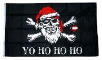 Fahne / Flagge Pirat - Weihnachten Yo Ho 90 x 150 cm
