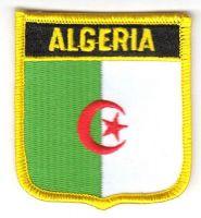 Wappen Aufnäher Fahne Algerien