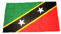 Flagge / Fahne St. Kitts und Nevis Hissflagge 90 x 150 cm