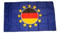 Flagge Fahne Europa mit Deutschland 30 x 45 cm