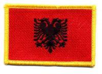 Fahnen Aufnäher Albanien