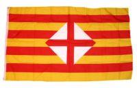 Fahne / Flagge Spanien - Barcelona 90 x 150 cm