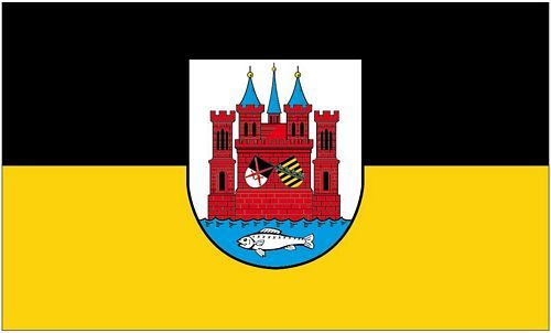 Fahne / Flagge Lutherstadt Wittenberg 90 x 150 cm