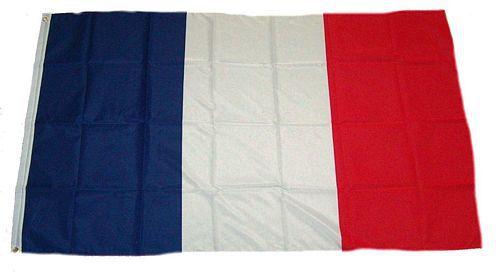 Flagge / Fahne Frankreich Hissflagge 90 x 150 cm