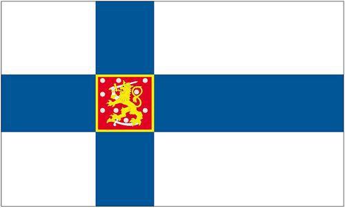 Flagge / Fahne Finnland Staatsflagge Hissflagge 90 x 150 cm