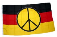 Fahne / Flagge Deutschland Peace 90 x 150 cm