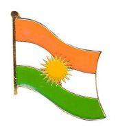 Flaggen Pin Kurdistan NEU Fahne Flagge Anstecknadel