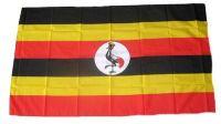 Fahne / Flagge Uganda 30 x 45 cm