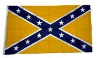 Fahne / Flagge Südstaaten - gelb 90 x 150 cm