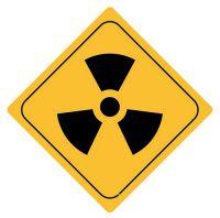 Aufkleber Sticker Achtung Radioaktiv Autoaufkleber