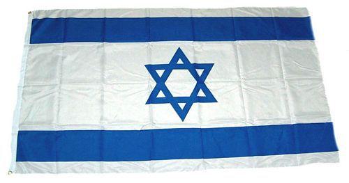 Flagge / Fahne Israel Hissflagge 90 x 150 cm