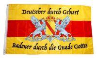 Fahne / Flagge Badener durch die Gnade Gottes 90 x 150 cm