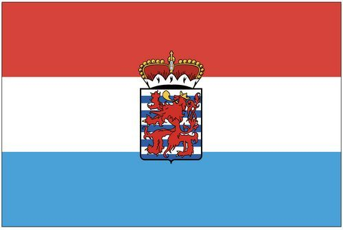 Fahnen Aufkleber Sticker Belgien - Luxemburg