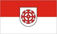 Fahne / Flagge Mühldorf am Inn 90 x 150 cm