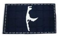 Fahne / Flagge Sylt Karte 90 x 150 cm
