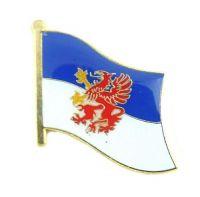Flaggen Pin Fahne Pommern Pins NEU Anstecknadel Flagge