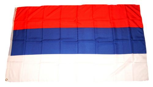 Flagge / Fahne Serbien Hissflagge 90 x 150 cm