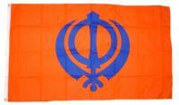 Fahne / Flagge Sikh 60 x 90 cm