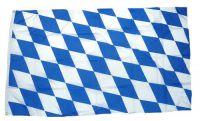 Flagge / Fahne Freistaat Bayern Rauten Hissflagge 90 x 150 cm