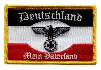 Fahnen Aufnäher Deutschland Mein Vaterland