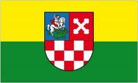 Fahne / Flagge Kroatien - Bjelovar Bilogora 90 x 150 cm