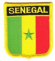 Wappen Aufnäher Fahne Senegal