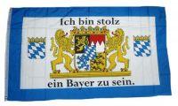 Fahne / Flagge Ich bin stolz ein Bayer zu sein 90 x 150 cm