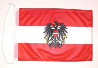 Bootsflagge Österreich Adler NEU 30 x 45 cm