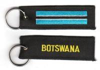 Fahnen Schlüsselanhänger Botswana