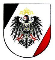 Pin Kaiserreich Adler Wappen Anstecker NEU Anstecknadel