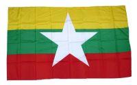 Fahne / Flagge Myanmar 30 x 45 cm