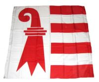 Fahne / Flagge Schweiz - Jura 120 x 120 cm