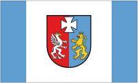 Fahne / Flagge Polen - Woiwodschaft Karpatenvorland 90 x 150 cm