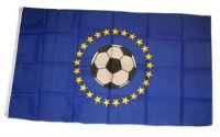 Fahne / Flagge Europa Fußball 90 x 150 cm