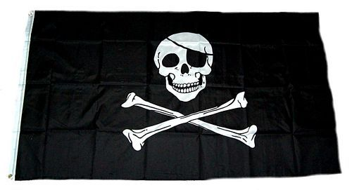 Fahne / Flagge Pirat Freibeuter 150 x 250 cm