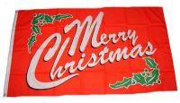 Flagge / Fahne Merry Christmas 90 x 150 cm