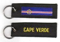 Fahnen Schlüsselanhänger Kap Verde
