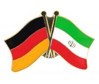 Fahnen Freundschaftspin Anstecker Iran