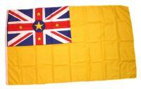 Flagge / Fahne Niue Hissflagge 90 x 150 cm