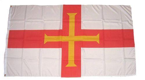 Fahne / Flagge Guernsey 90 x 150 cm