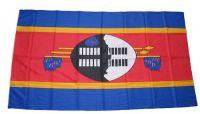 Fahne / Flagge Swasiland 30 x 45 cm