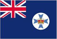 Fahnen Aufkleber Sticker Australien - Queensland