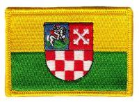 Fahnen Aufnäher Kroatien - Bjelovar Bilogora