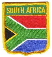 Wappen Aufnäher Fahne Südafrika